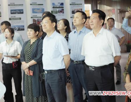 安徽省企业发展研究会一行,莅临神农谷交易中心参观考察